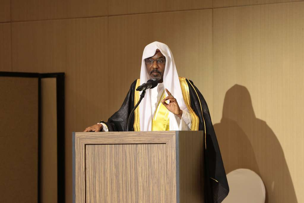 Muhammadu Sanusi II, the Emir of Kano and a former Governor of Nigeria's Central Bank is attending the 2018 Annual Meetings of the African Development Bank Group in Busan, Korea