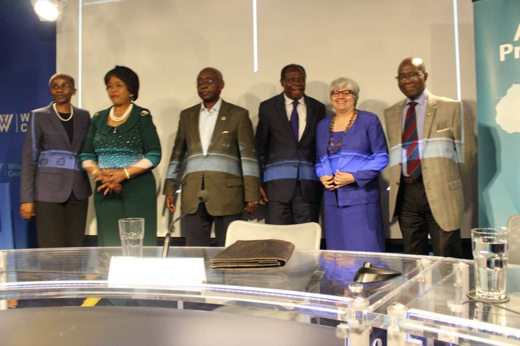 Dr Donald Kaberuka second from left, believes with Trade Africa will get it right