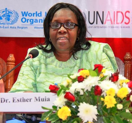Dr Esther Muia