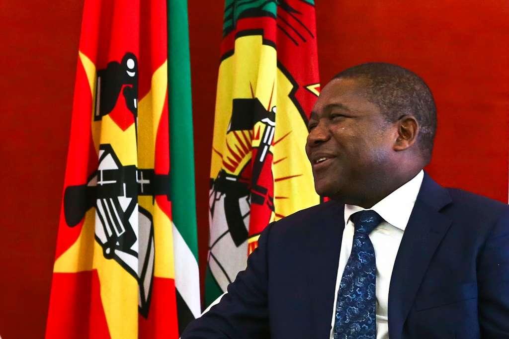 Mozambique President Filipe Nyusi. (Photo by Gallo Images / Sowetan / Antonio Muchave)