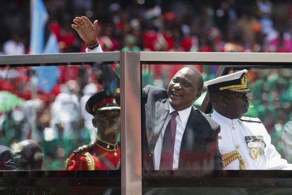 Kenya President Uhuru Kenyatta closer to getting oil out of his country with early-phase engineering work on pipeline development. File Photo by Dai Kurokawa/EPA-EFE