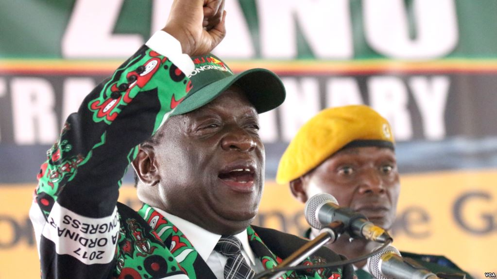 President Emmerson Mnangagwa has a clear edge in the elections