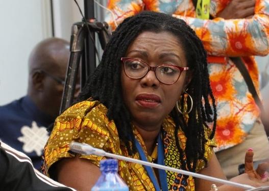 Ursula Owusu Communication Minister