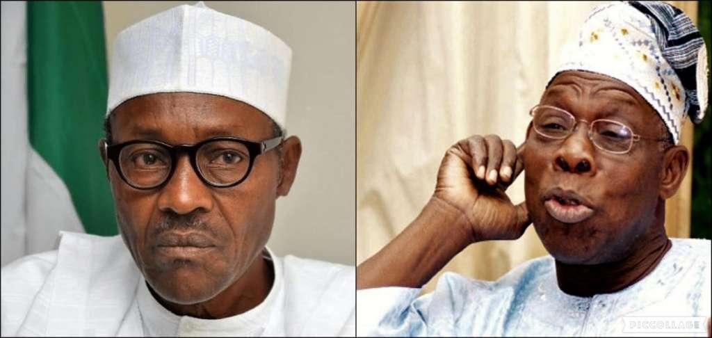 Buhari and Obasanjo have been trading barbs