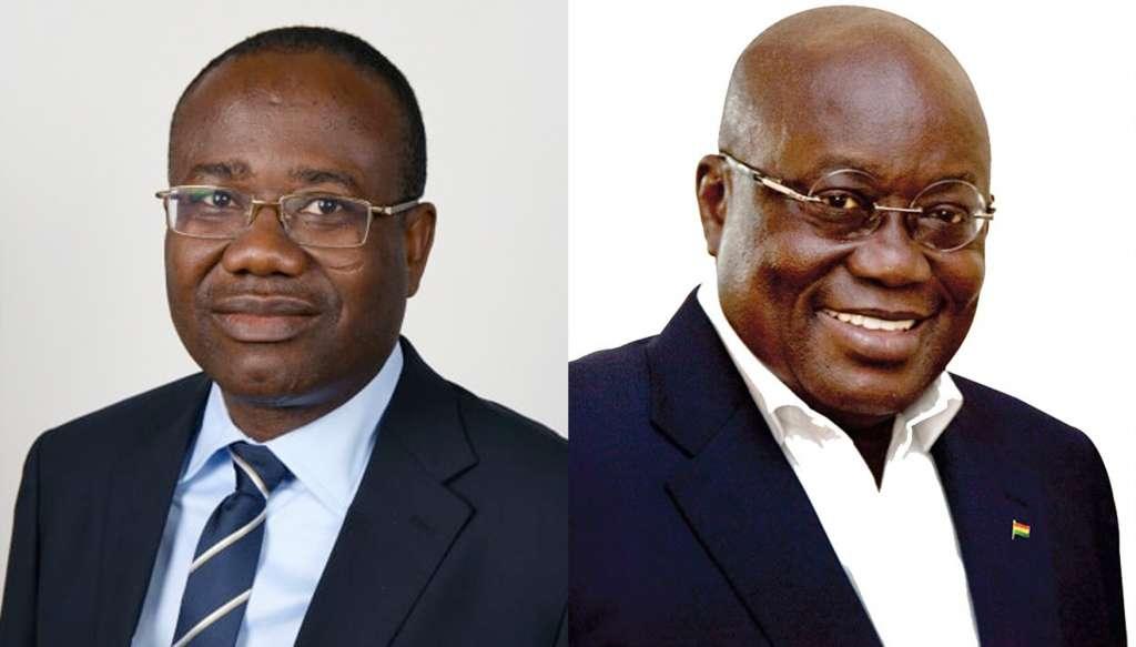 Kwesi and Akufo Addo