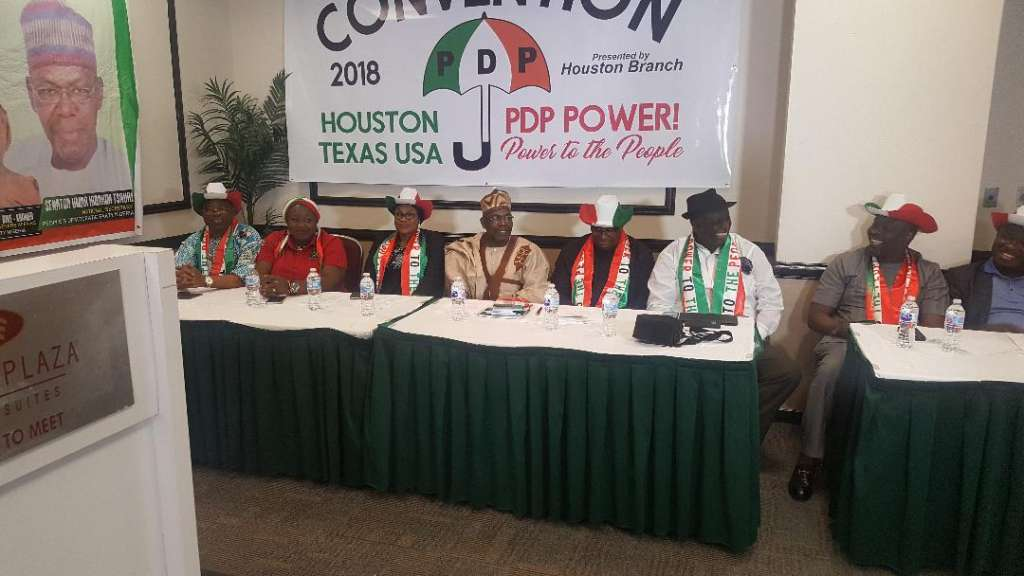 Members of the National Working Committee of the Party turned out in full force at Convention