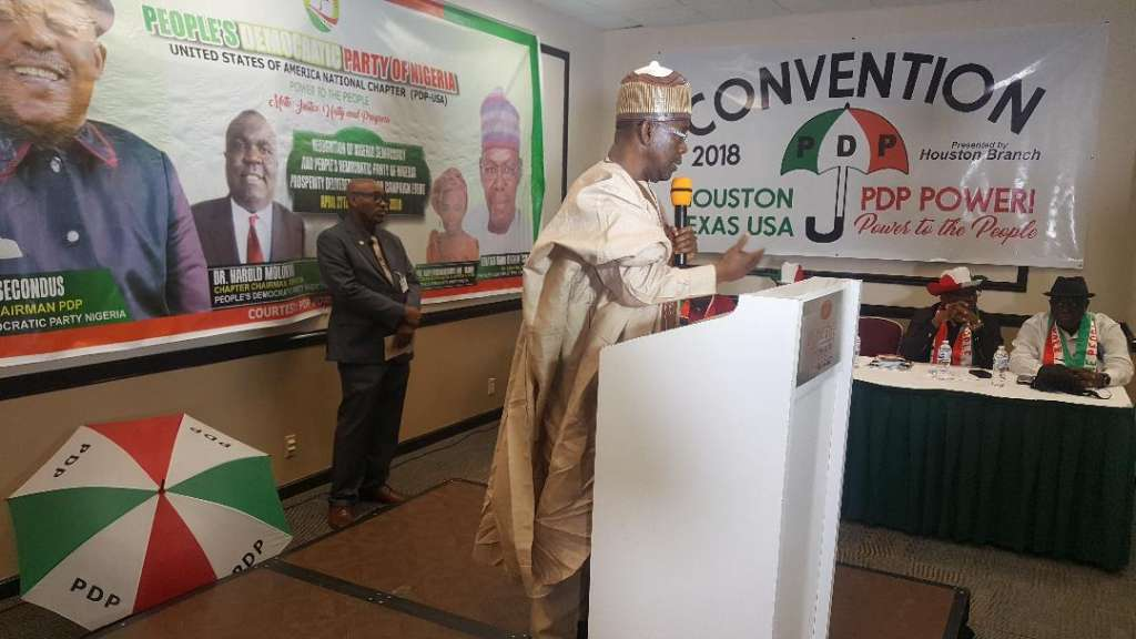 PDP National Secretary Senator Umar Ibrahim Tsauri