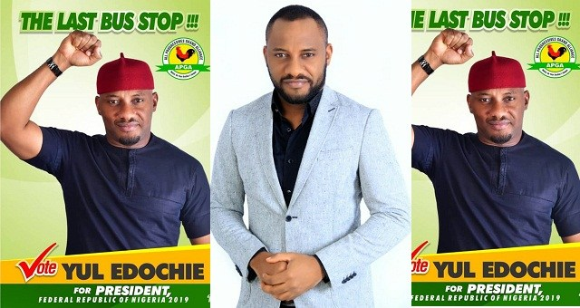 Time for Nollywood to produce the next President?Actor Yul Edochie has declared his candidacy for the 2019 elections