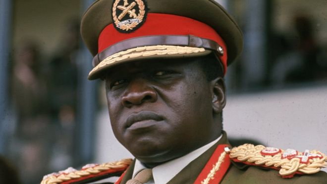 Idi Amin was forced from power after one of the bloodiest rules in African history.HULTON ARCHIVE/GETTY IMAGES