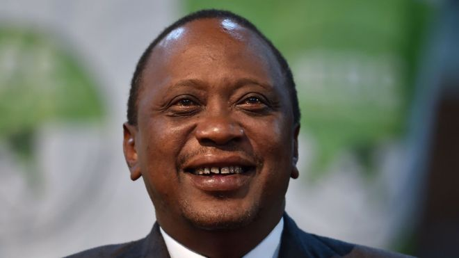 Uhuru Kenyatta promised to deal with corruption when he was first elected in 2013