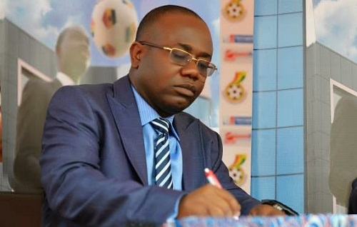 Kwesi Nyantakyi, President of Ghana Football Association