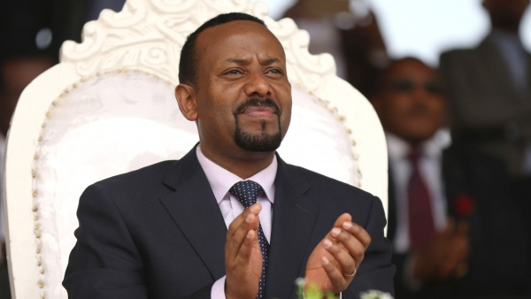 Ethiopian Prime Minister Abiy Ahmed has won praise for ambitious reforms he has unveiled in less than three months in office (AFP Photo/YONAS TADESSE)