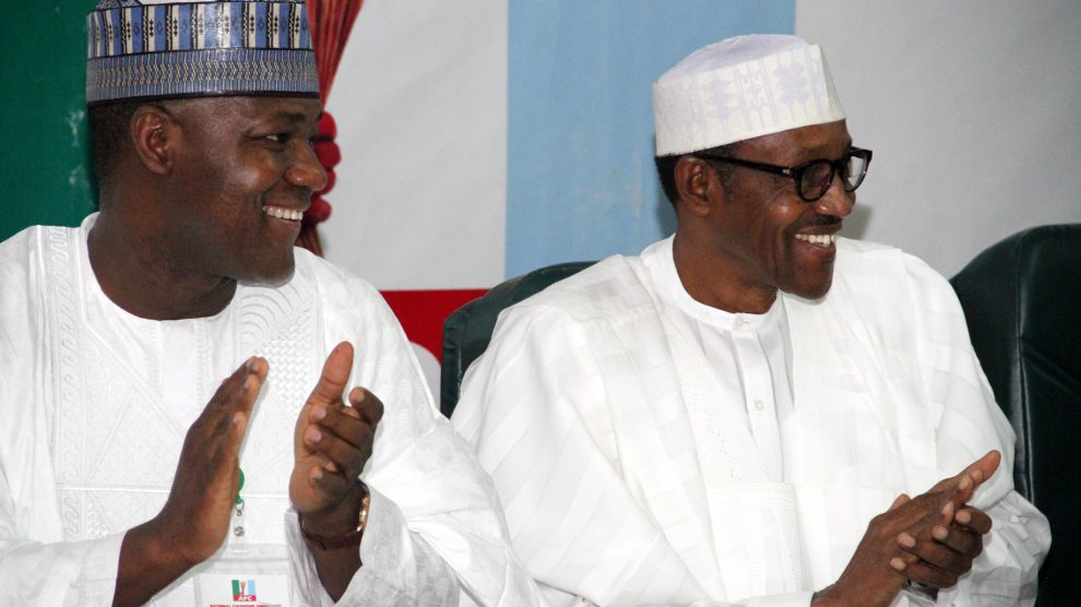 Dogara with Buhari