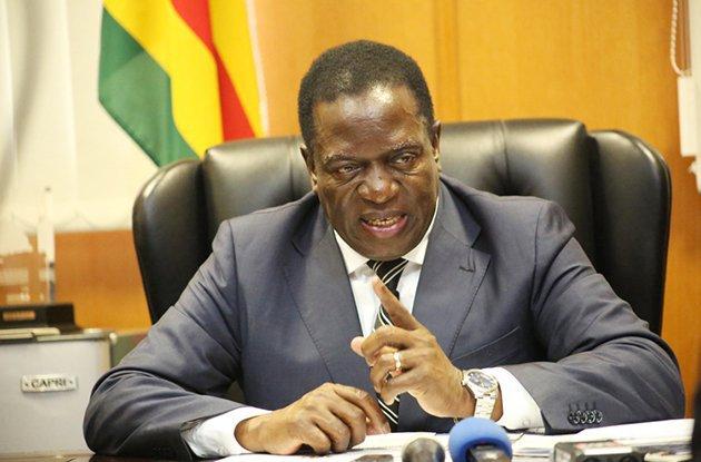 President Emmerson-Mnangagwa