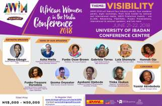African Women in the Media 2018 Conference Promises Visibility on Women