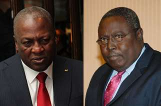 Mahama and Martin Amidu