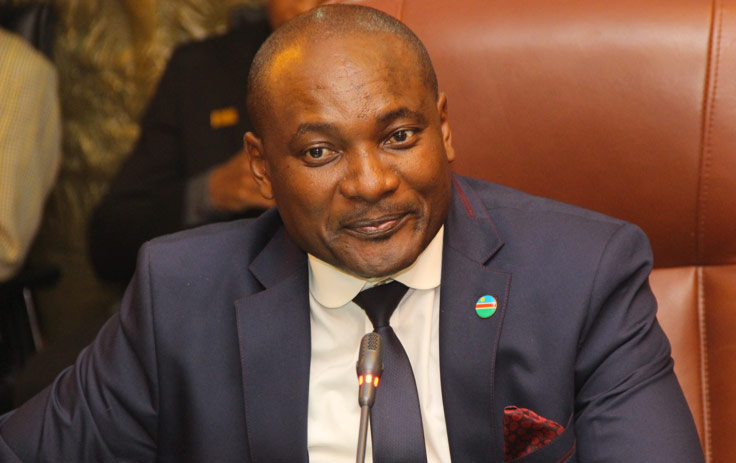 ENVIRONMENT and tourism minister Pohamba Shifeta