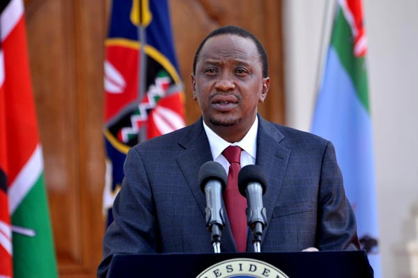 President Uhuru Kenyatta has vowed to flush out corruption