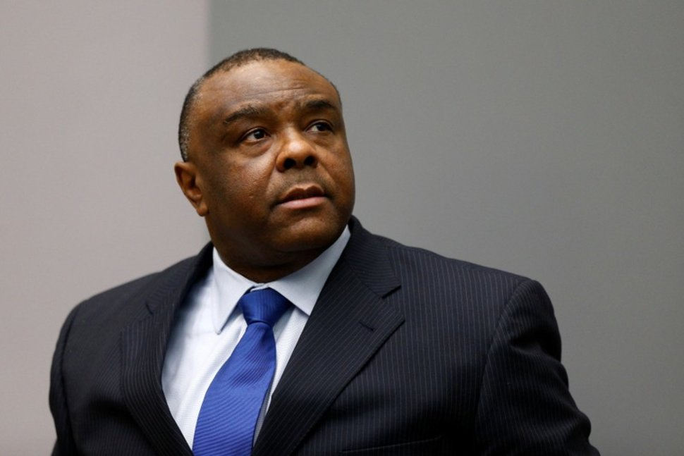 FILE PHOTO: Jean-Pierre Bemba Gombo of the Democratic Republic of the Congo sits in the courtroom of the International Criminal Court (ICC) in The Hague, June 21, 2016. REUTERS/Michael Kooren/File PhotoREUTERS