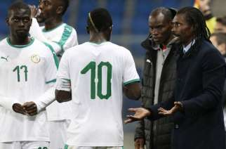 Senegal Coach Aliou Cisse proud of players despite World Cup elimination