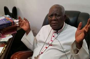 His Eminence, Cardinal Christian Tumi