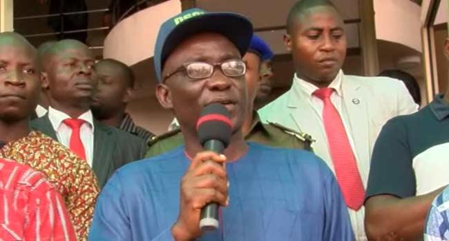 Kolap Olusola was the PDP Flagbearer