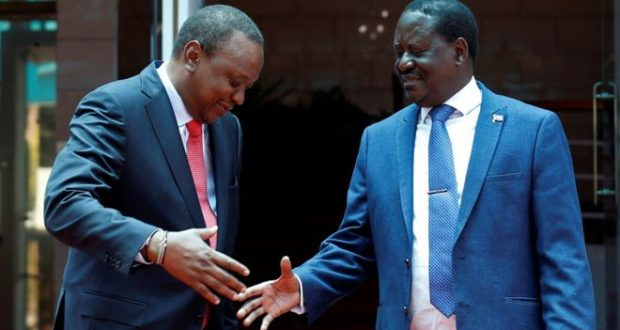 Detente between President Uhuru Kenyatta and opposition challenger Raila Odinga may mean well for the country