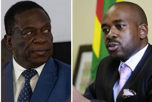 It is a two horse race between President Mnangagwa of ZANU PF and Nelson Chamisa of MDC Alliance