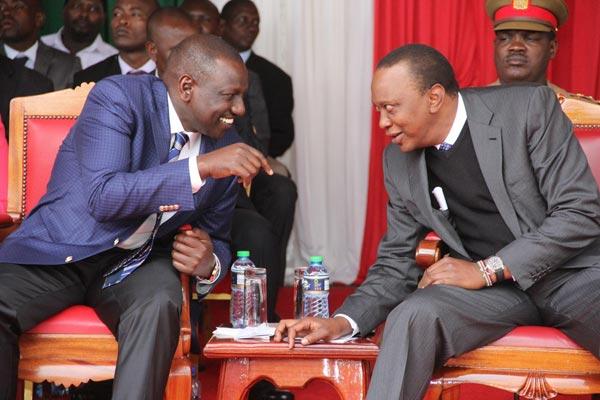 President Uhuru and Deputy President Ruto