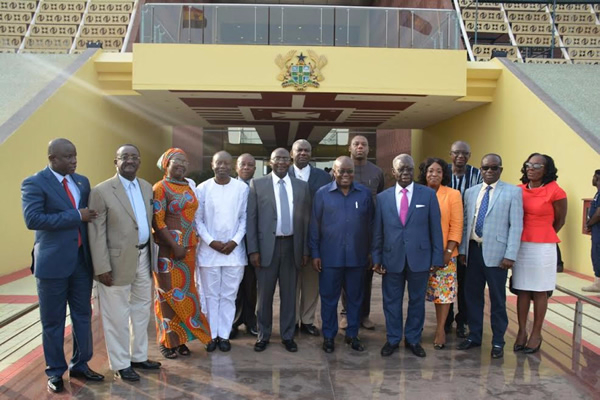 Akufo Addo and his Ministers