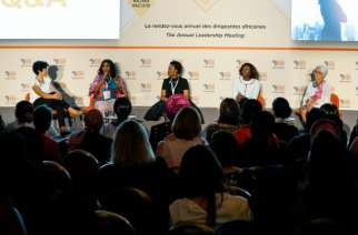 Panel of Women in Business Annual Leadership Meeting