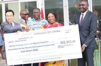China gives Ghana $300K to maintain Foreign Affairs Building