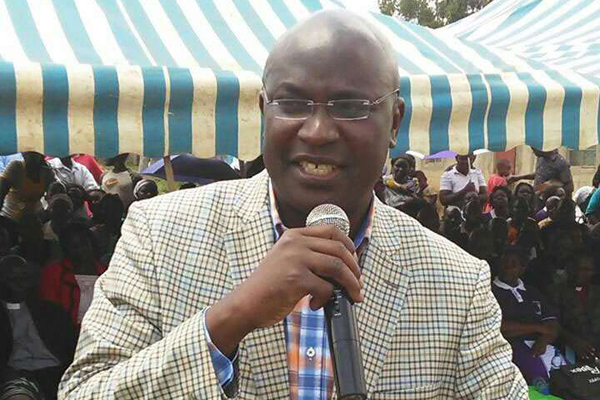 Governor Wycliffe Wangamati.