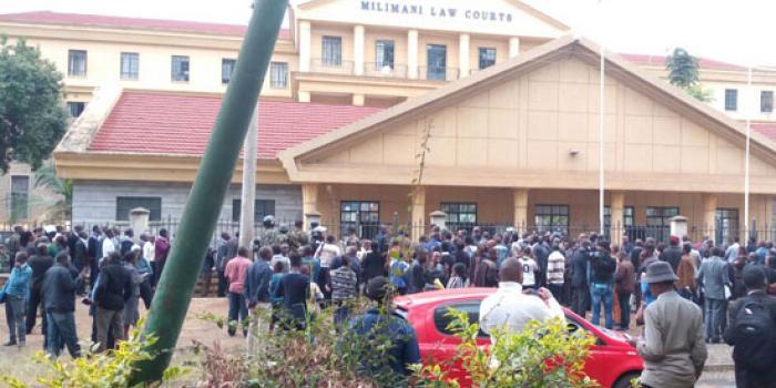 Kenya:Cases derailed over blackout