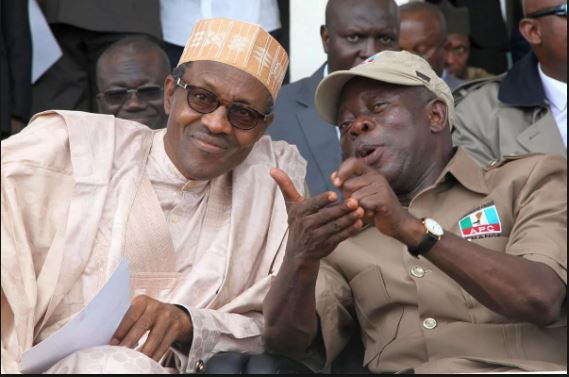 Oshiomole and President Buhari