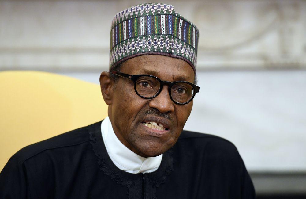 Muhammadu Buhari Photographer: Olivier Douliery/Pool via Bloomberg