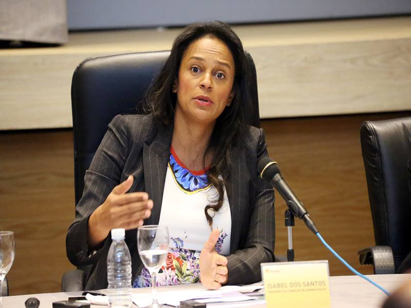 Isabel dos Santos confirms order for ENDE's removal from Efacec