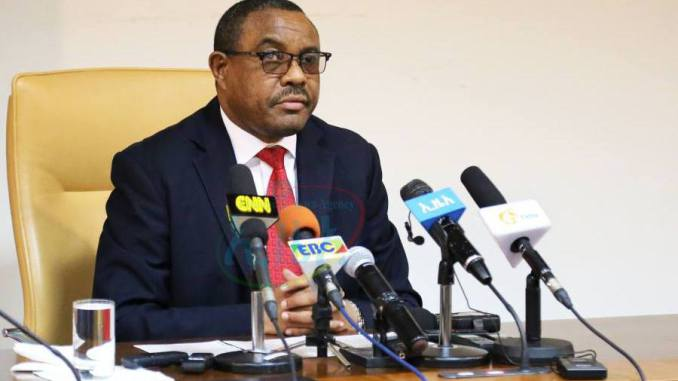 Hailemariam Desalegn  headed the AU election observer mission to Ethiopia
