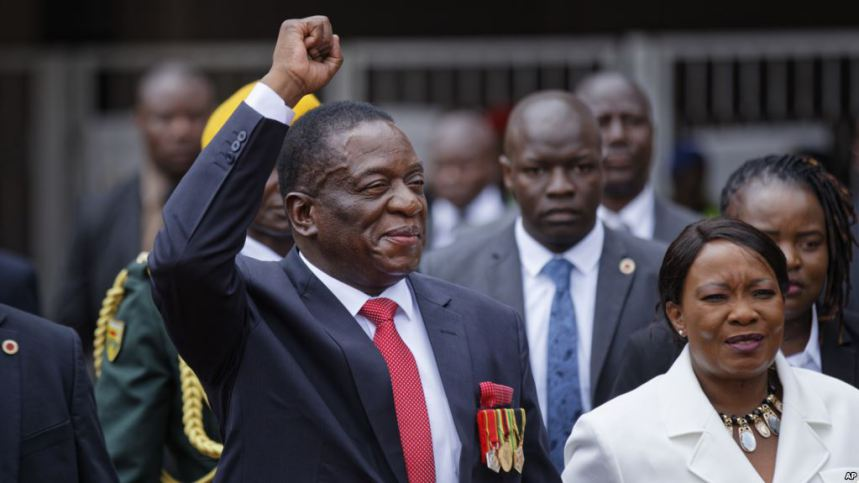 President Mnangagwa  has been basking in the glow of congratulatory messages