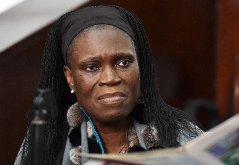 Simone Gbagbo, the former first lady of Ivory Coast, will be released from jail soon, according the country's president (AFP Photo/ISSOUF SANOGO)