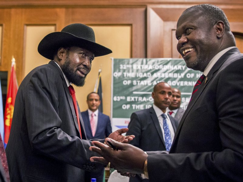 President Kiir and former Vice Presdient Riek Machar. South Sudanese are hopeful the peace accords and amnesty could bring about lasting peace