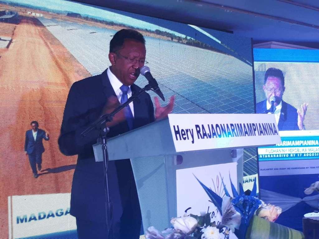 Madagascar: President Hery Rajaonarimampianina Announces his Candidacy for a New Term