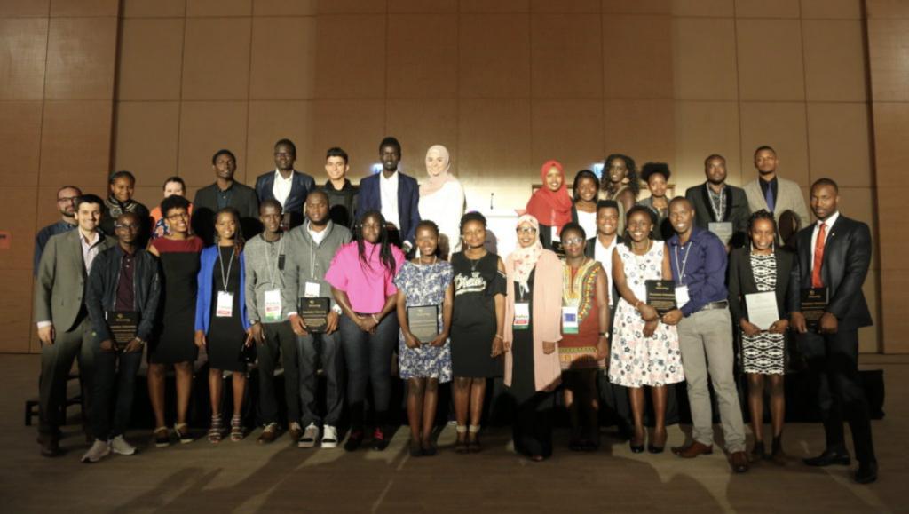 2018 Social Venture Challenge Winners in Kigali, Rwanda