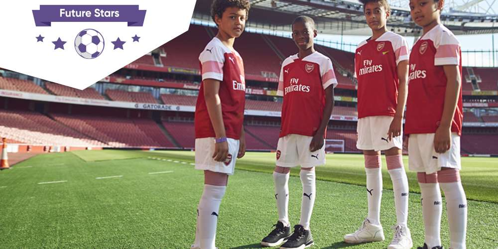 "Six African finalists selected by Arsenal FC and WorldRemit for new ""Future Stars"" youth coaching programme"