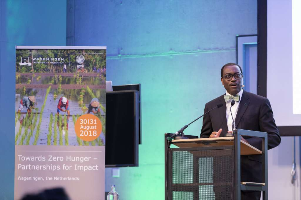2017 World Food Prize Laureate and President of the African Development Bank, Akinwumi Adesina