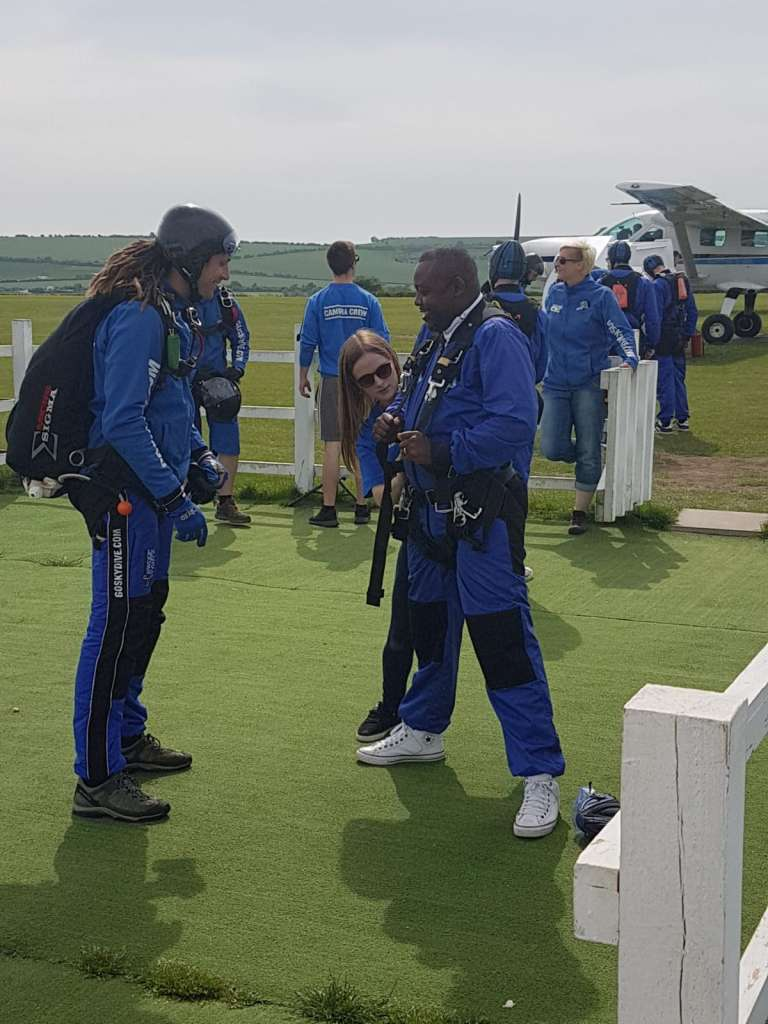 Giddeon skydiving to raise autism and disability awareness