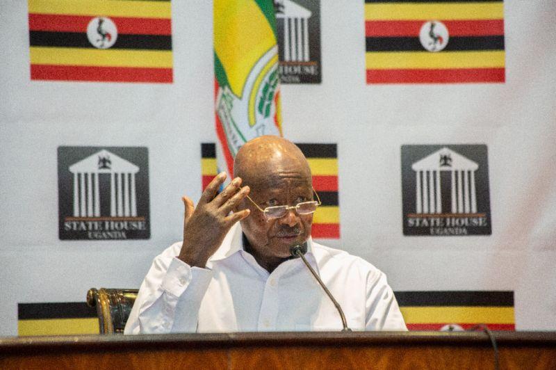 Uganda's President Yoweri Museveni seized power in 1986 at the head of a rebel army (AFP Photo/Sumy SADURNI)