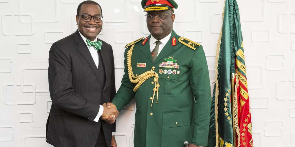 Nigerian Defence Academy Confers Honors on African Development President Akinwumi Adesina