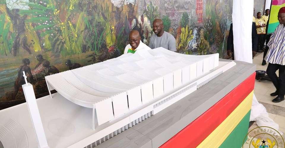 Akufo-Addo unveils National Cathedral designed by David Adjaye