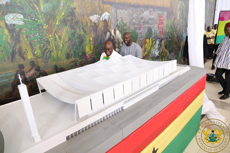 Akufo-Addo unveils National Cathedral designed by David Adjaye
